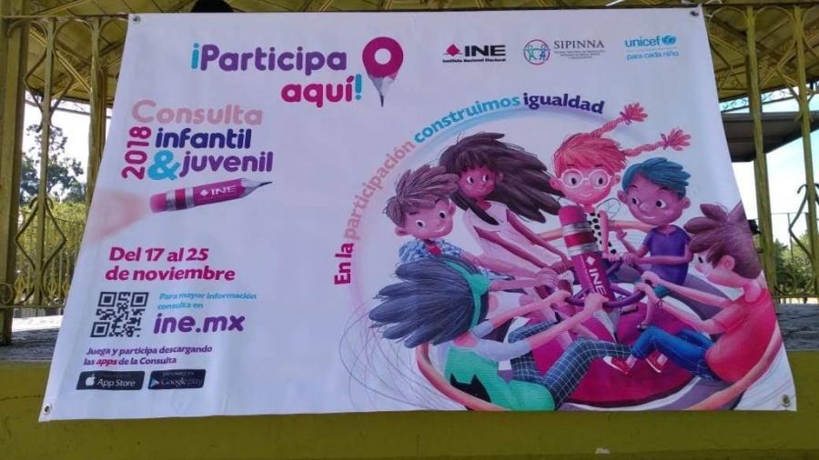 INE de Nuevo Laredo hará consulta infantil y juvenil en septiembre de 2021
