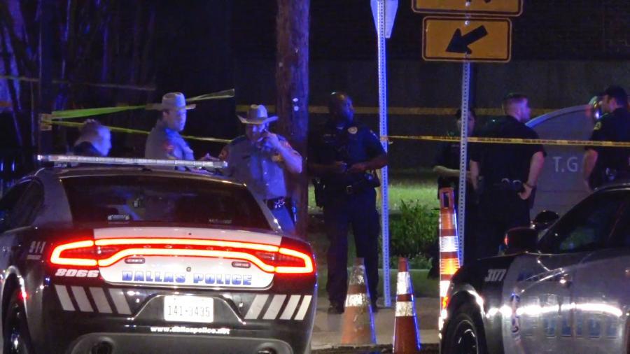 Policía de Dallas abate a conductor que los amenazó con una pistola