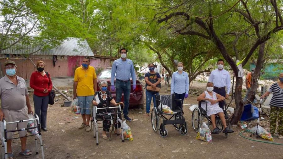Sistema DIF Reynosa lleva atención directa hasta los hogares de las familias de la Pedro J. Méndez y Ernesto Zedillo