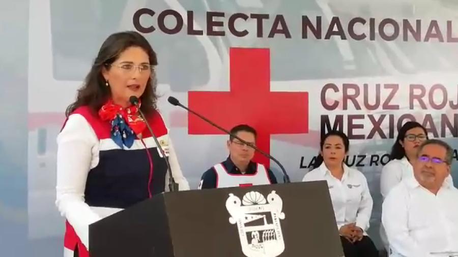 Arranca Cruz Roja colecta nacional, alcalde dona 20 mil pesos