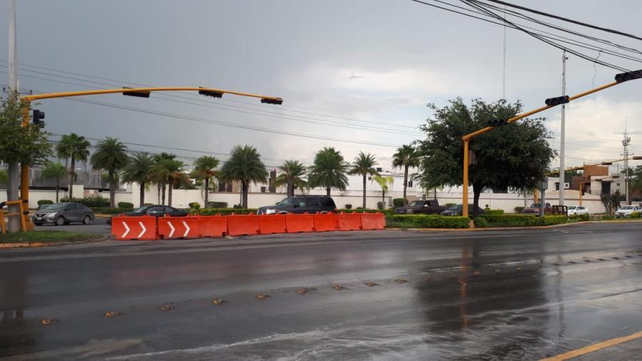 Adecuan semáforos del bulevar Miguel Hidalgo