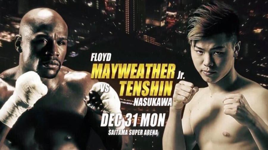 Floyd Mayweather se medirá a ¿Tenshin Nasukawa?