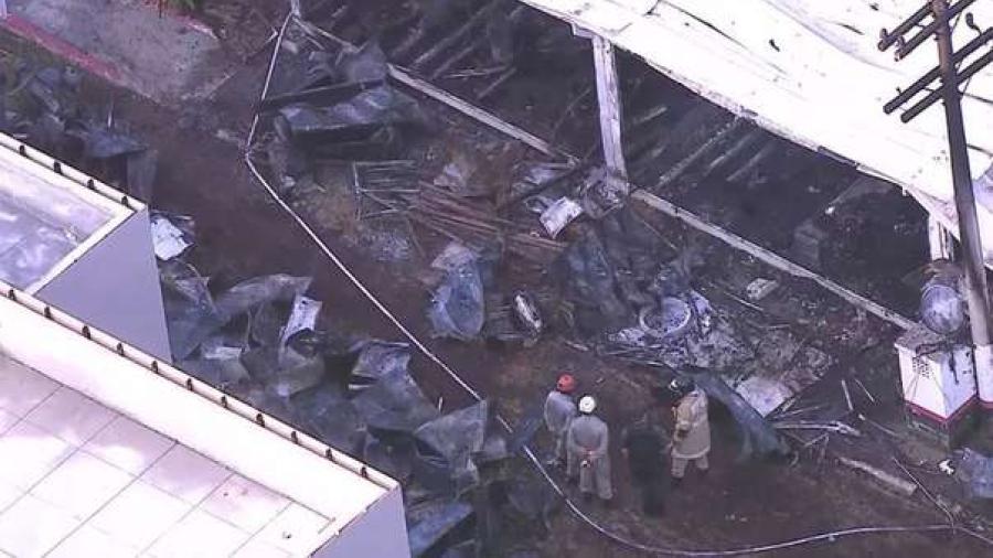 Al menos 10 muertos en un incendio en el centro de entrenamiento del Flamengo