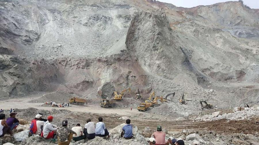 Deja al menos 50 muertos derrumbe en mina de jade en Myanmar
