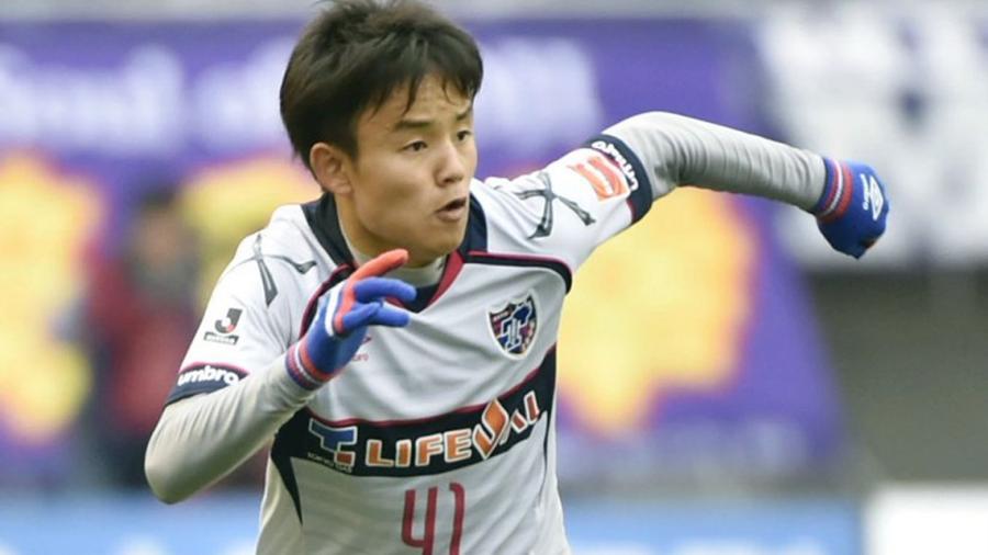 El Real Madrid ficha a Takefusa Kubo