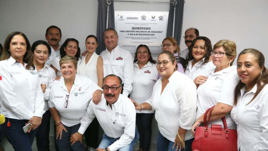 Ponen en marcha quirófano en Clínica DIF Madero