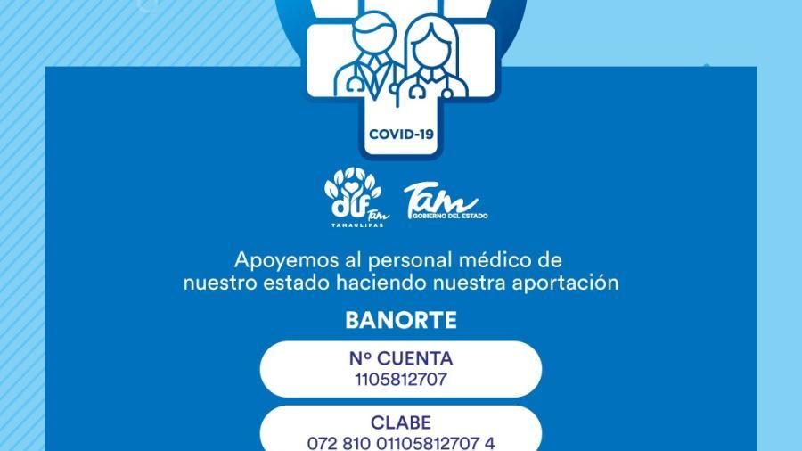 """Gobierno de Tamaulipas entrega primeros apoyos del fondo """"Héroes de la Salud"""""""