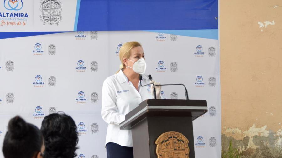 En Altamira el apoyo a la educación no se detiene: Alcaldesa