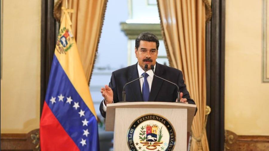 """Maduro afirma que """"no va a permitir el show"""" de la ayuda humanitaria"""
