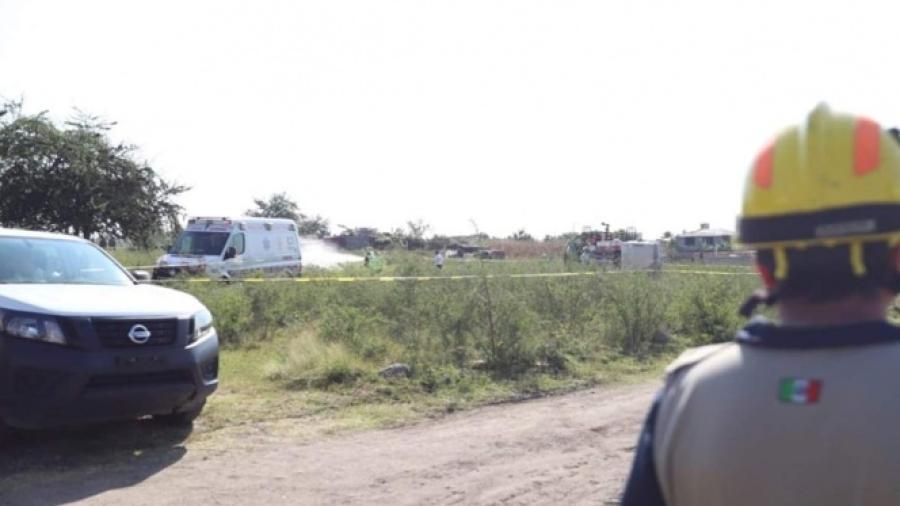 Cae avioneta en Morelos, hay dos muertos