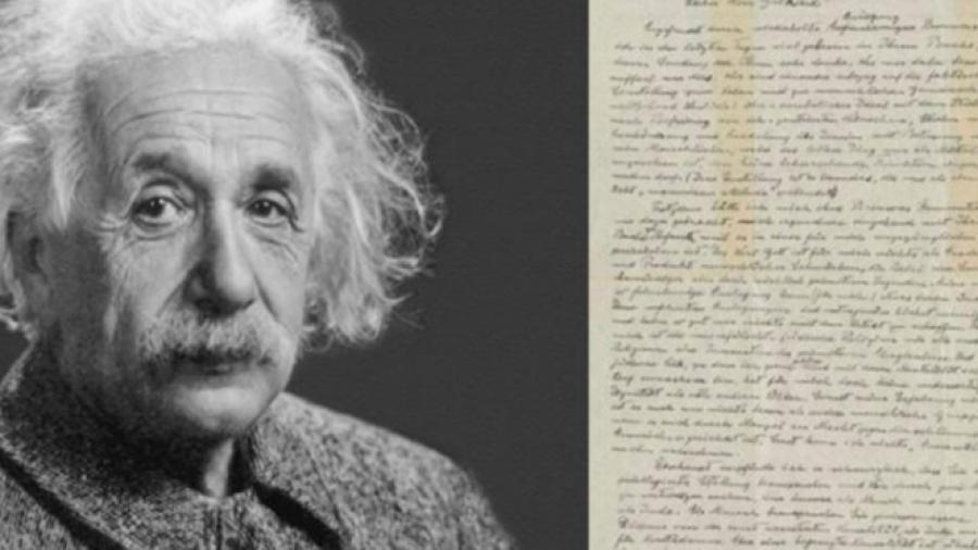 Dan a conocer carta de Einstein en la que niega la existencia de Dios