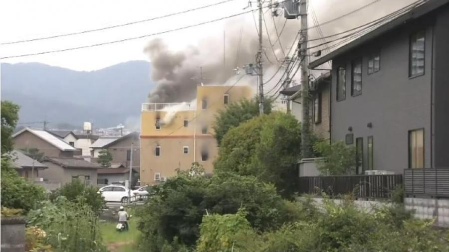 Varios muertos por un incendio provocado en un estudio de animación Kyoto Animation