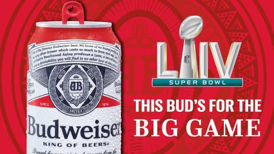 Por primera vez en 37 años Budweiser no tendrá publicidad en el Super Bowl
