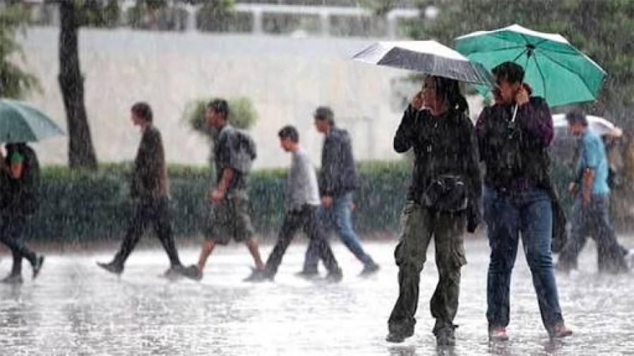 Se prevén lluvias en 31 estados del país