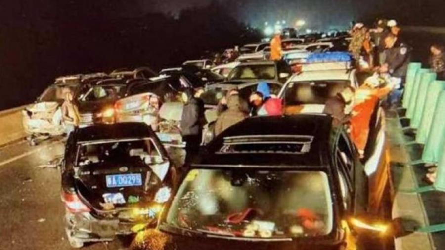 13 muertos tras varios choques en China
