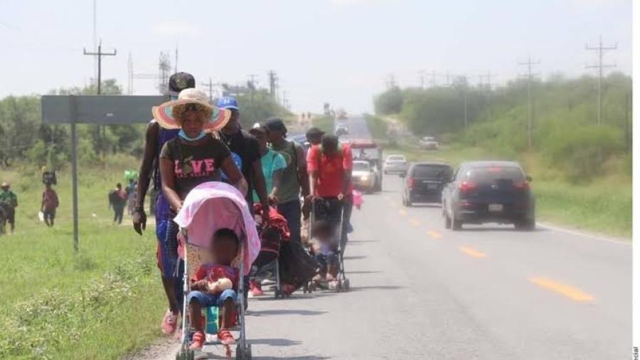 Reportan al menos cinco mujeres haitianas embarazadas que llegaron a Reynosa
