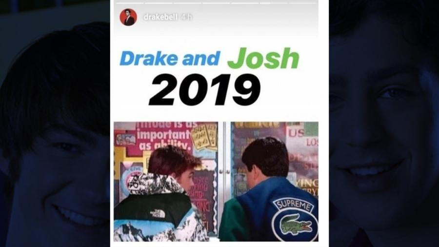 Drake Bell sugiere que 'Drake y Josh' regresará este año