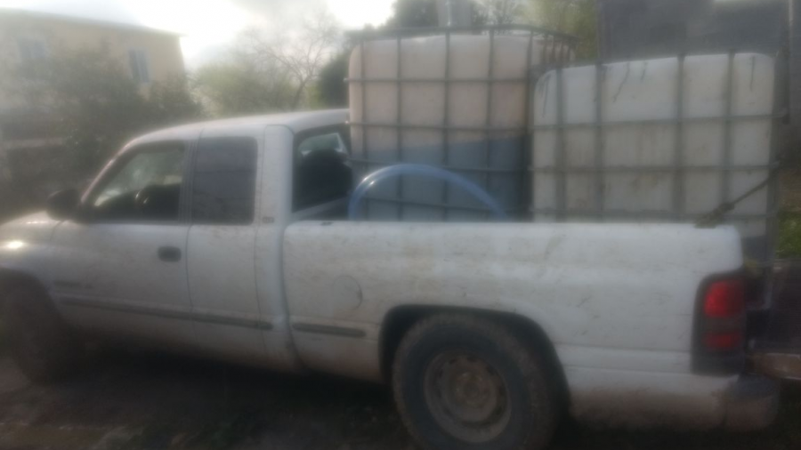 Aseguran 500 litros de combustible
