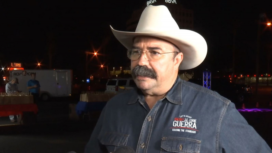 Sheriff del Condado Hidalgo sale del hospital tras ser internado por COVID-19