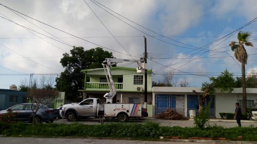 Rehabilita Municipio de Reynosa alumbrado público en colonias