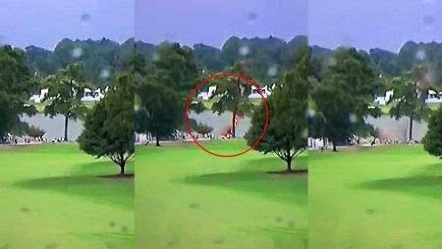 Varias personas heridas al impactar un rayo contra un árbol durante un torneo de golf