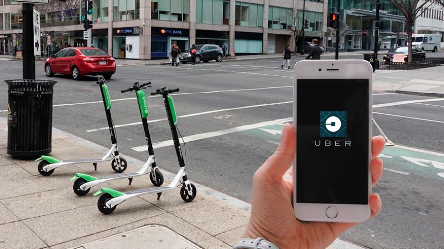 """""""Lime"""", nuevo socio de Uber"""