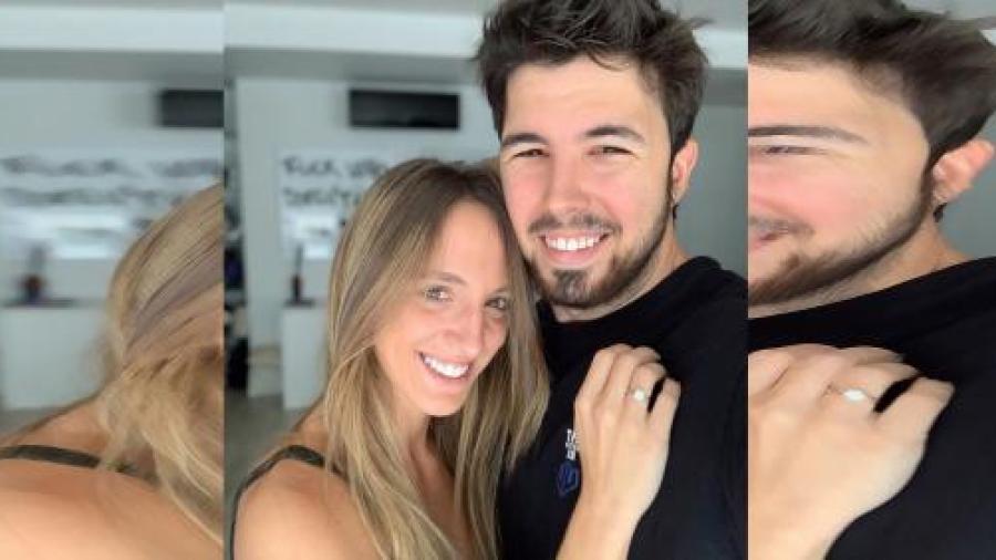 El youtuber Willyrex le pide matrimonio a su novia Cristina