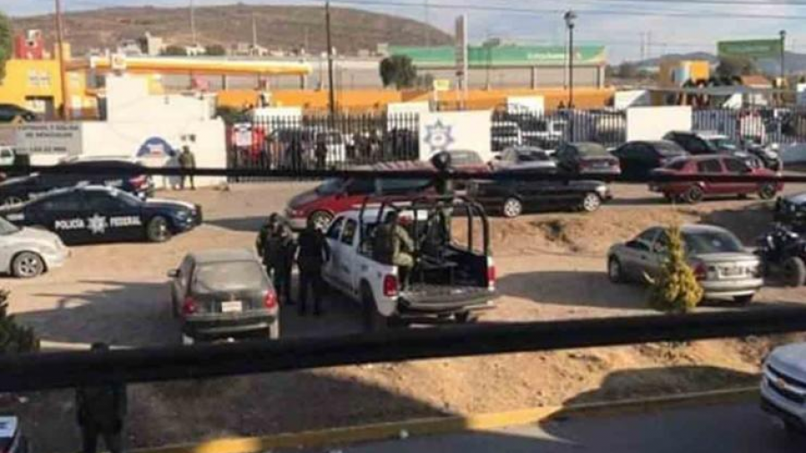 Realiza GN operativo sorpresa a policías municipales en Hidalgo