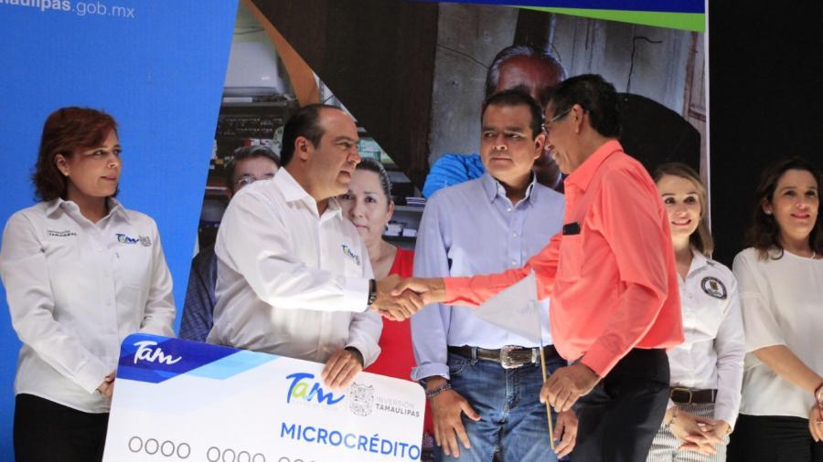 Impulsa Tamaulipas a emprendedores mediante créditos