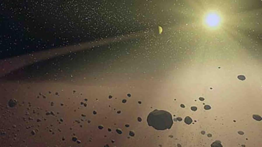 Anillos de polvo en Venus y Mercurio