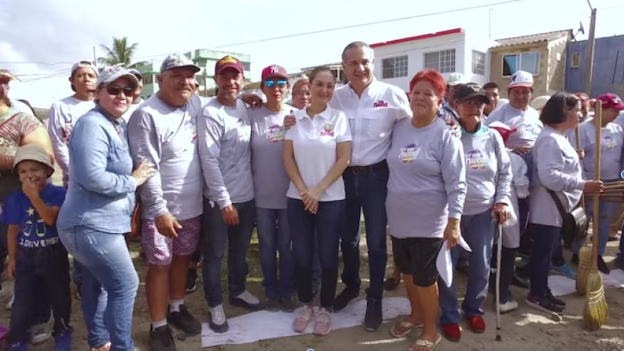 """Realizan acciones por """"Jornada de Limpieza"""" en la Miramápolis"""