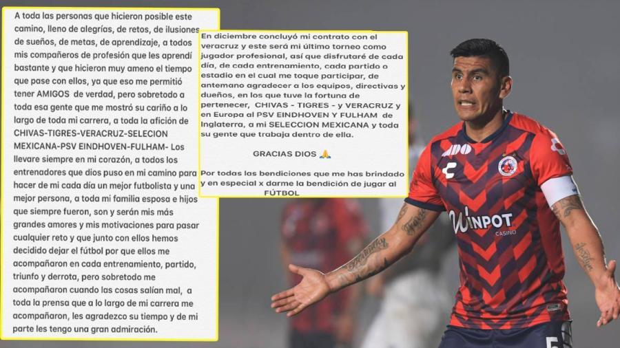 Carlos Salcido anuncia su retiro de las canchas