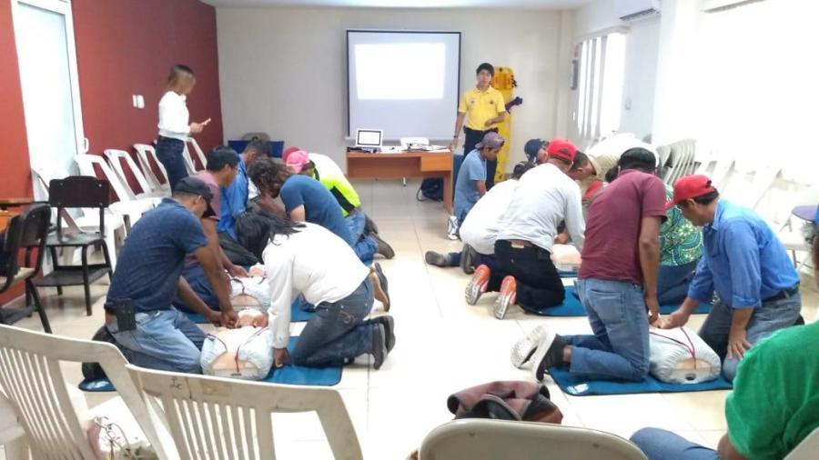 Refuerzan capacitación para elementos de Protección Civil en Madero