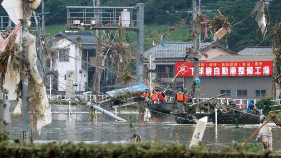 Al menos 34 fallecidos por lluvias en Japón