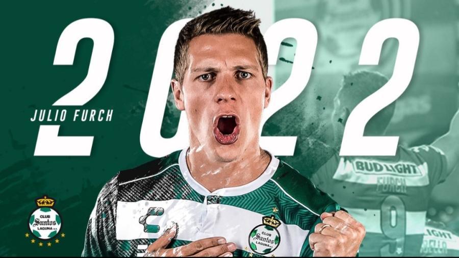 Santos anuncia la renovación de Julio Furch hasta el 2022