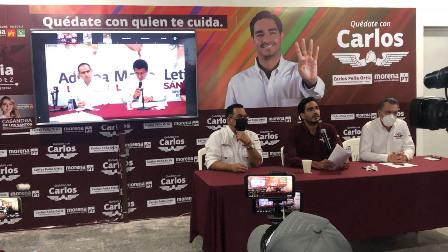 Candidatos de MORENA denuncian persecución política