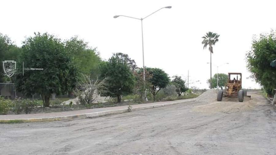 Dirección de Obras Públicas realiza trabajos en el municipio