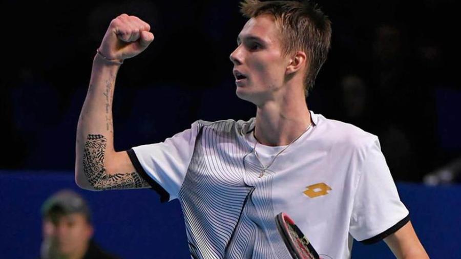 Odio el tenis con todo mi corazón: Alexander Bublik