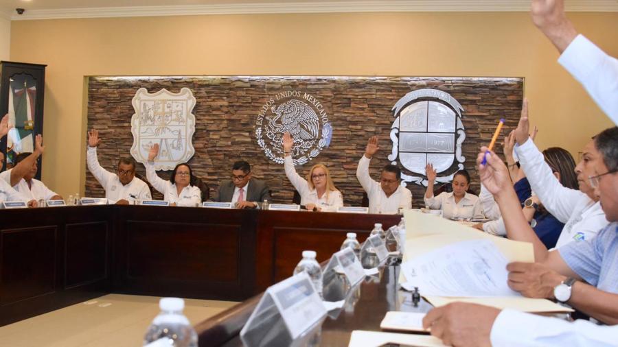 Presentan en sesión de cabildo informe de Comisión de Protección Civil