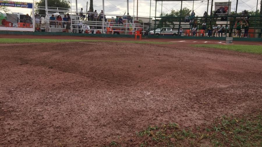 Por lluvias suspenden juego de Semifinal Nacional de Liga Pequeña