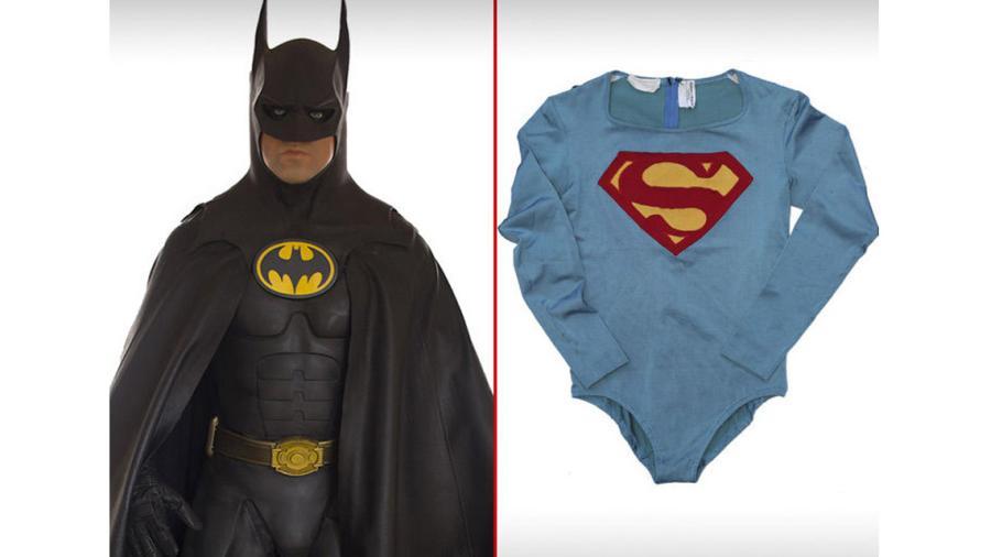 Subastan los trajes del Batman, de Keaton y el Superman, de Reeve