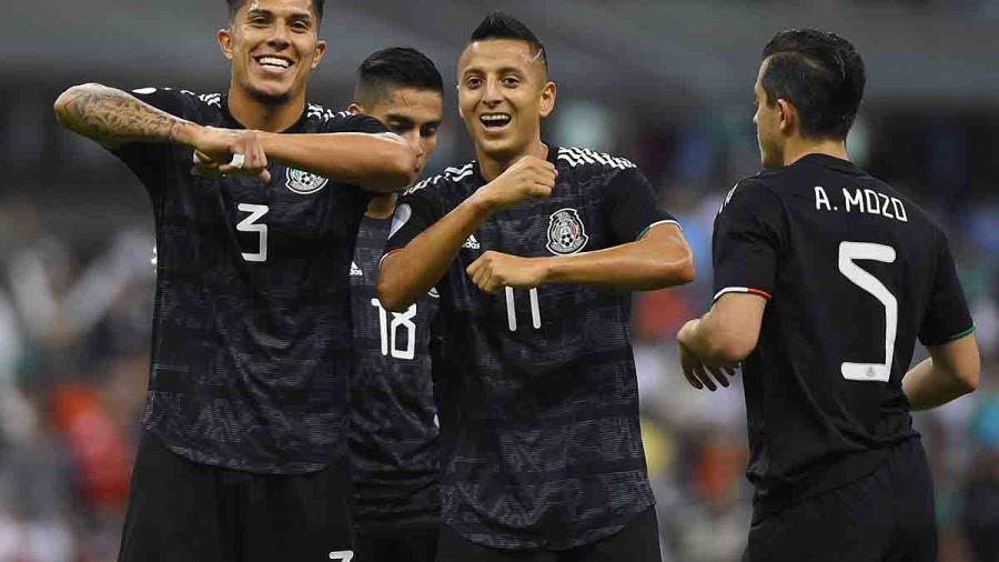 México se impone 3-1 a Panamá en la Liga de Naciones