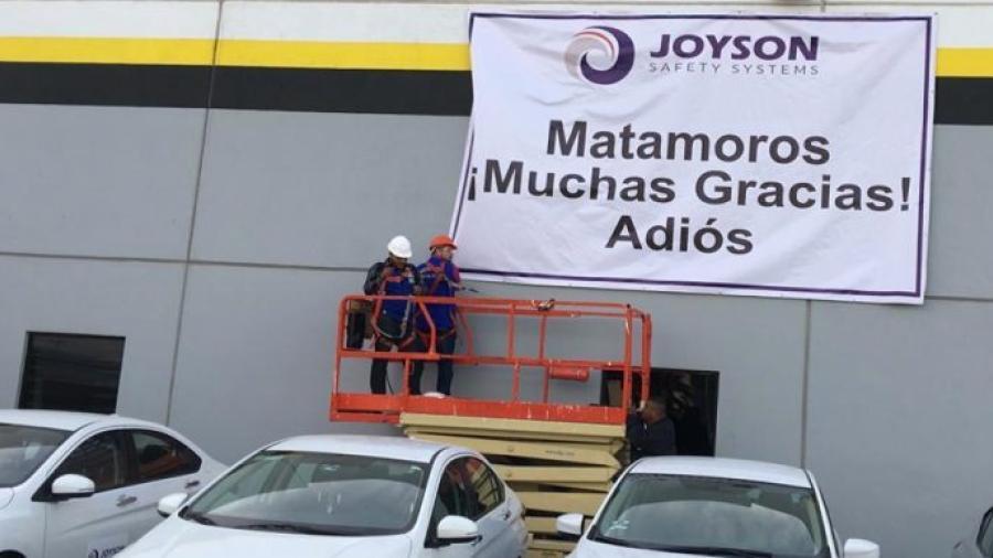 Continúan cierre de empresas en Matamoros