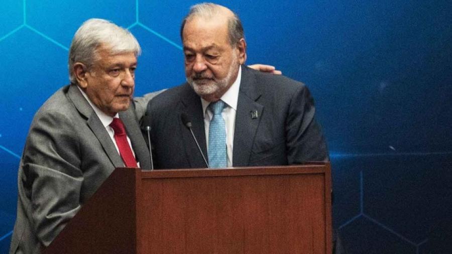 AMLO asegura que Carlos Slim se retirará durante su sexenio