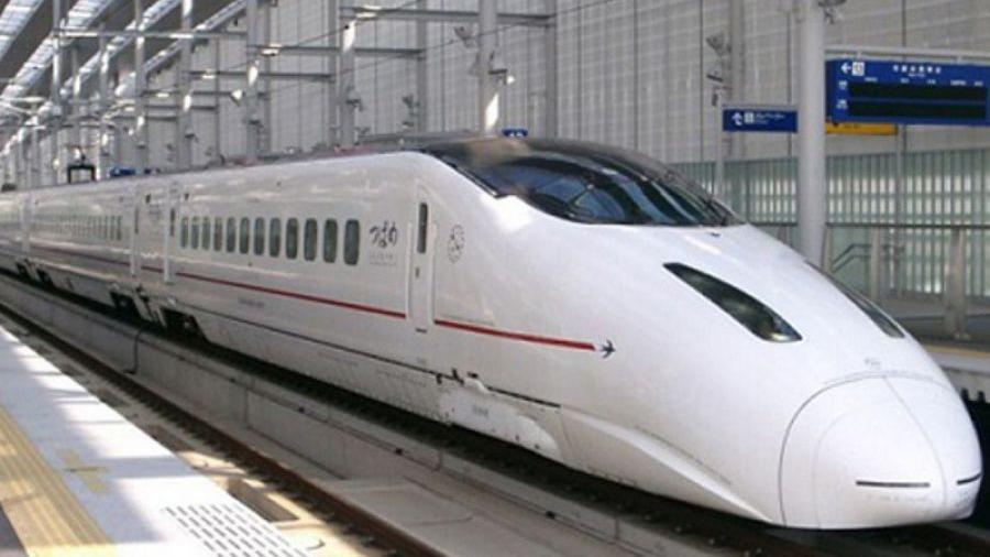 Texas Trabaja en el primer tren bala de Estados Unidos