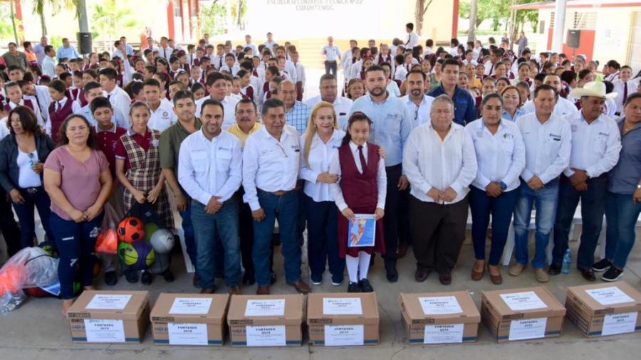 Pone en marcha Alma Laura Amparán programa FORTASEG 2019