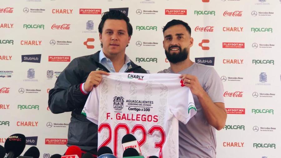 Necaxa anuncia la renovación de Felipe Gallegos hasta 2023