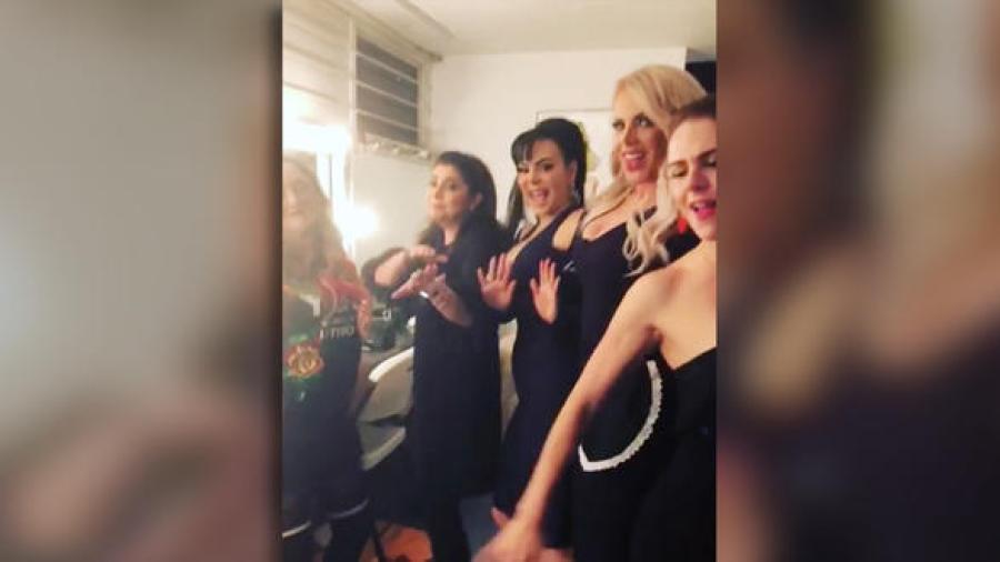 Victoria Ruffo, Maribel Guardia y Lorena Herrera cautivan en redes con sexy baile