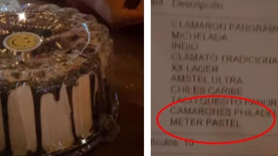 Restaurante les cobra por meter pastel al refrigerador
