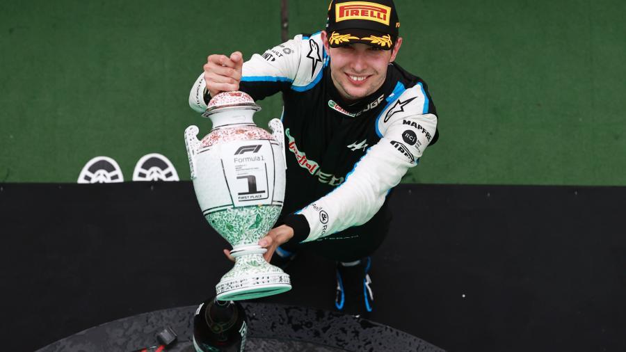 Esteban Ocon consigue su primera victoria en F1 en Hungría
